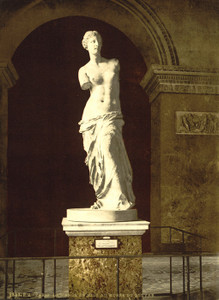 Art Prints of The Louvre, the Venus de Milo, Paris, France (387423)