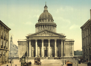 Art Prints of The Pantheon, Paris, France (387418)