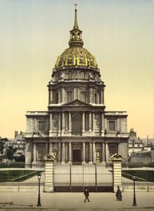 Art Prints of The Dome des Invalides, Paris, France (387425)
