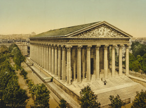 Art Prints of The Madeleine, Paris, France (387431)