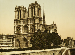 Art Prints of Notre Dame, Paris, France (387434)