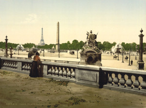 Art Prints of Place de la Concorde, Paris, France (387446)
