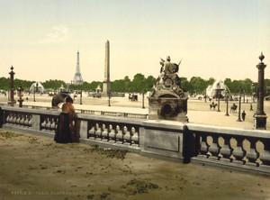 Art Prints of Place de la Concorde, Paris, France (387446)