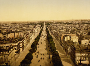 Art Prints of Champs Elysees, an Avenue, Paris, France (387450)