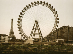 Art Prints of La Grande Rue or Roue, Paris, France (387451)