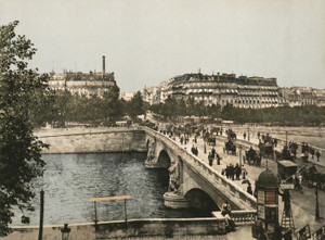 Art Prints of Alma Bridge, Paris, France (387460)