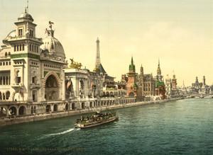 Art Prints of Pavilions of the Nations II, Paris, France (387464)