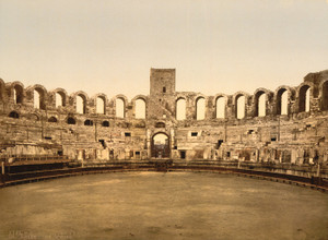 Art Prints of The Arena, Arles, Provence, France (387497)