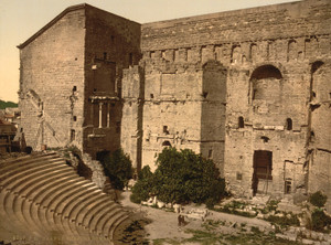 Art Prints of Roman Theatre, Orange, Provence, France (387500)