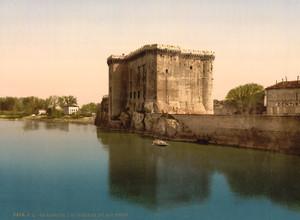 Art Prints of King Rene's Castle, Tarascon, Pyrenees, France (387580)