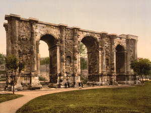 Art Prints of The Mars Gate, Rheims, France (387588)