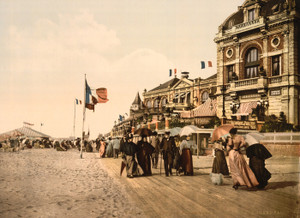 Art Prints of Promenade and Grand Salon, Trouville, France (387628)