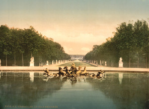 Art Prints of The Triumphal Car, Versailles, France (387648)