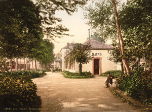 Art Prints of The Lardy Buildings, Vichy, France (387733)