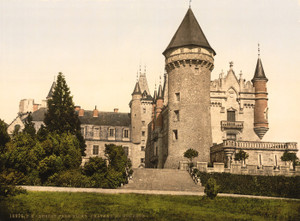 Art Prints of Busset Nera Vichy, Chateaux de Bourbon, Vichy, France (387737)