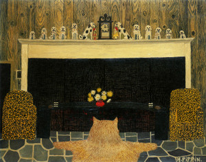 Art Prints of The Den by Horace Pippin