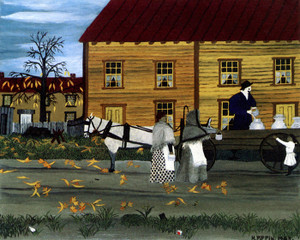 Art Prints of The Milkman of Goshen by Horace Pippin