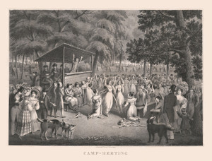 Art Prints of Camp Meeting by Hugh Bridgport & Alexander Rider