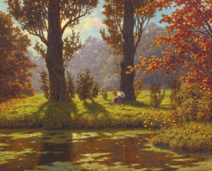 Art Prints of A Sunny Afternoon by Ivan Fedorovich Choultse