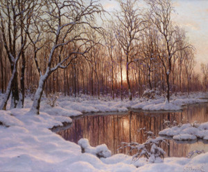 Art Prints of November by Ivan Fedorovich Choultse