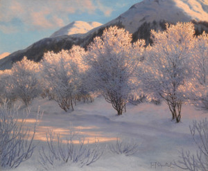 Art Prints of Symphony of the Night, Engadine by Ivan Fedorovich Choultse