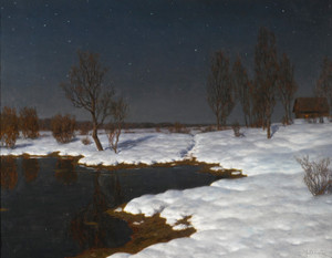 Art Prints of Winter Landscape by Ivan Fedorovich Choultse