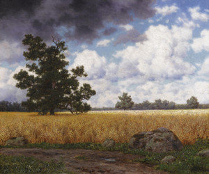 Art Prints of Wheatfields by Ivan Fedorovich Choultse