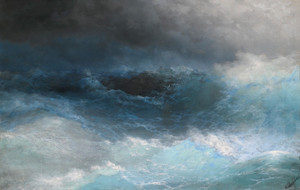 Art Prints of Stormy Sea by Ivan Konstantinovich Aivazovsky