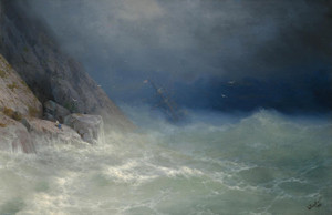 Art Prints of The Survivor II by Ivan Konstantinovich Aivazovsky