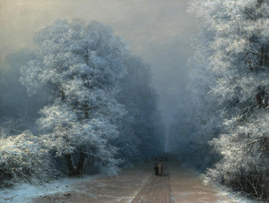 Art Prints of Winter Landscape II by Ivan Konstantinovich Aivazovsky