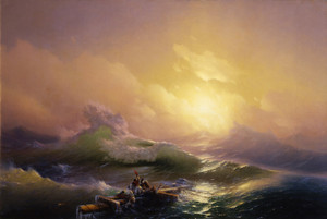 Art Prints of The Ninth Wave by Ivan Konstantinovich Aivazovsky