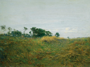 Art Prints of Path Through the Grass by Ivan Pavlovich Pokhitonov