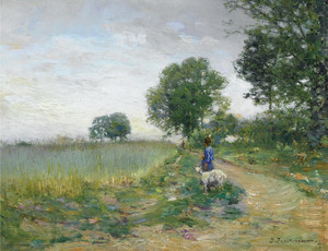 Art Prints of The Wheat Field by Ivan Pavlovich Pokhitonov