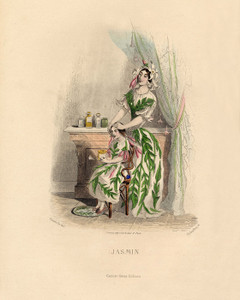 Art Prints of Jasmine by J. J. Grandville
