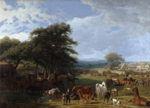 Art Prints of Lord Rivers Stud Farm, Stratfield Saye by Jacques-Laurent Agasse