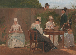 Art Prints of The Chalon Family in London by Jacques-Laurent Agasse