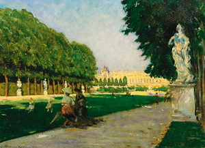 Art Prints of The Tapis Vert, Versailles by James Carroll Beckwith