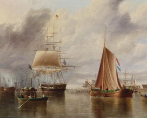 Art Prints of Bound for the Sea by James Edward Buttersworth