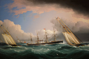 Art Prints of New York Yacht Club Race by James Edward Buttersworth