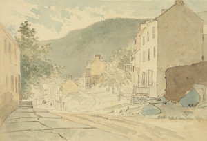 Art Prints of Washington St., Harper's Ferry (23038L) by James Madison Alden