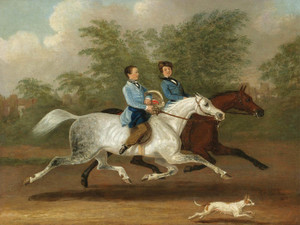 Art Prints of Stakes and Trotters at a Gallop by James Pollard
