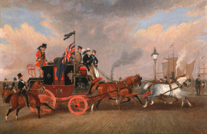 Art Prints of The Last of the Mail Coaches at Newcastle Upon Tyne by James Pollard