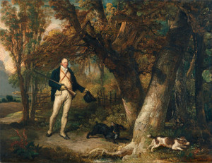 Art Prints of The Reverend Thomas Levett and His Dogs Cock Shooting by James Ward