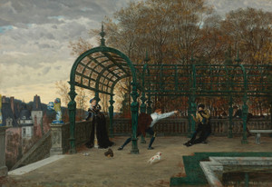 Art Prints of The Attempted Abduction by James-Jacques-Joseph Tissot