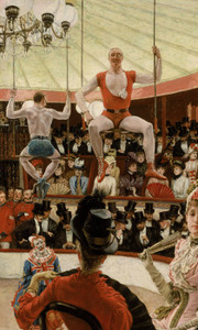 Art Prints of Women of Paris, the Circus Lover by James-Jacques-Joseph Tissot