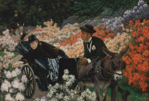 Art Prints of The Morning Ride by James-Jacques-Joseph Tissot