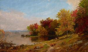 Art Prints of Autumn Landscape I by Jasper Francis Cropsey