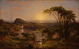 Art Prints of Summer Lake, Ontario by Jasper Francis Cropsey