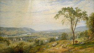 Art Prints of The Valley of Wyoming by Jasper Francis Cropsey