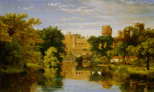 Art Prints of Warwick Castle England by Jasper Francis Cropsey